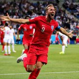Harry Kane scored twice for England to beat Tunisia 2-1.