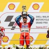 Dovizioso Wins Malaysian Grand Prix