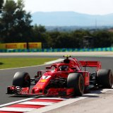 Kimi Raikkonen replaced Day One's pace-setter Antonio Giovinazzi on Wednesday.