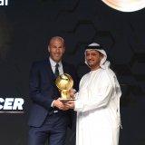 Zinedine Zidane was awarded as the best coach of the year