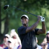 Woods and McIlroy Toil, But Finish Within Striking Distance