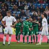 Real Madrid was knocked out of the cup after a shock 2-1 loss to Leganes, which is 13th in La Liga.