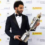 Egyptian Salah, Germany's Sane Win Player of Year Awards