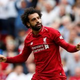 Mohamed Salah scored the  first goal for Liverpool.