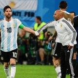 Sampaoli Denies Media Interpretations of Him Consulting Messi