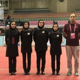 Iran women sepaktakraw team