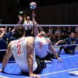 Iran team clash against Germany