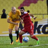 The Socceroos scored the first goal in five minutes before  the interval and Syria leveled the game on the 85th minute.