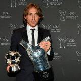 Real Sweeps UEFA Awards