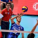 Iran troubled Vietnam with its advantage in high blocking and thundering attack