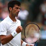 Djokovic Joins Federer, Nadal in Wimbledon Quarterfinals
