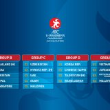 Table of the final draw