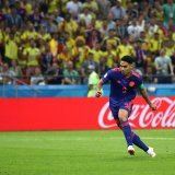 Radamel Falcao netted the 2nd goal for his team  against Poland.