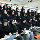 Iran Wrestling Federation held a referee training session for women last year.