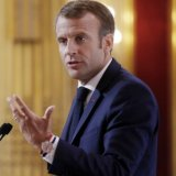 Macron: EU Cannot Rely on US for Security