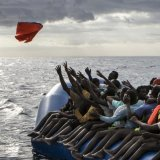At least 525 refugees have died while attempting to reach Europe so far this year.