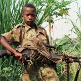 A child soldier in DR Congo (File Photo)