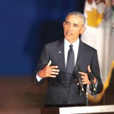 Fired-Up Obama Blasts Trump, Republicans