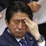 Embattled Abe May Quit in June