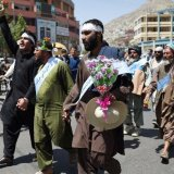 Afghan Peace Marchers Arrive in Kabul