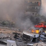 Iraqi Official Wounded in  Bomb Blast