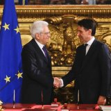 Italy's New Leader Takes Over