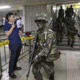 S. Korea Suspends Civilian Drills  to Help Talks With North