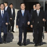 Korean Officials Talk in North's Capital to Set Up Summit