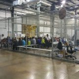 People who have been taken into custody over illegal entry into the US at a facility in Texas on June 17
