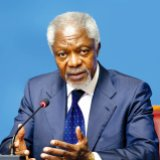 Former UN secretary general Kofi Annan says Iran is part of the solution to the conflicts in the Middle East.