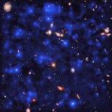Telescope Captures Invisible Blue-Velvet Glow of Deep Space