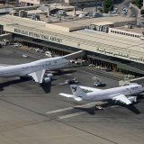 The busiest Iranian airport, Tehran's International Mehrabad Airport, handles 400 daily flights on average.