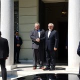 Zarif in Athens to Attends Anciant Civilizations Forum