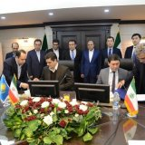KTZ Express and Islamic Republic of Iran Shipping Lines have signed an agreement to establish a joint enterprise in Tehran on Feb. 7.
