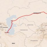New Transport Corridor Links Iran's Caspian Port to China, Kazakhstan