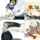 Ehtesabian's illustrations for 'Mantiq-o-Tair'