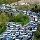 Nearly four million cars ply the streets of Tehran in a traffic system that can handle only two million.