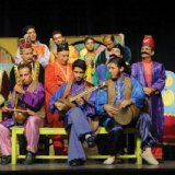 'Kal Enayat' (L) and 'Puppets Fall in Love,' two of the selected plays, at earlier shows