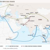 """Silk Road Economic Belt and the 21st Maritime Silk Road"" aims to connect Asia, Africa and Europe through more efficient logistics networks by building more roads, railroads and airports."
