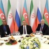 Azerbaijan Courting Iran, Russia on INSTC