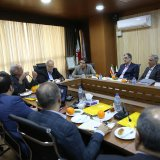 Top government officials and private sector players convened at Donya-e-Eqtesad's headquarters in Tehran on Saturday to discuss the conference's objectives and scopes. (Photo: Amir Pourmand)