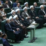 Rouhani, Majlis Speaker, Judiciary Chief Confer