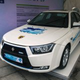 Iran Khodro Unveils Hybrid Electric Vehicle