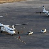 Iran Air's eight brand-new ATR turboprops took the flag carrier back to small airports.