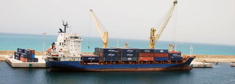Iran's Non-Oil Foreign Trade Down 7% to $35 Billion