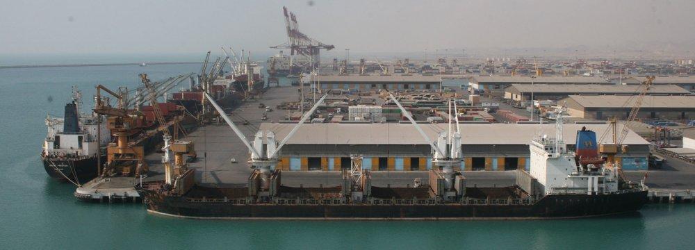 Iranian Port Operations Down 22%