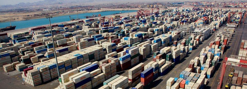 Iran's Port Activity Declines 13%