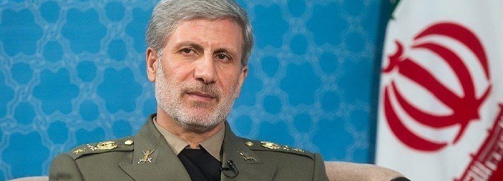 Defense Chief in Russia