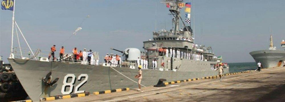 Naval Flotilla Berths at Indian Port