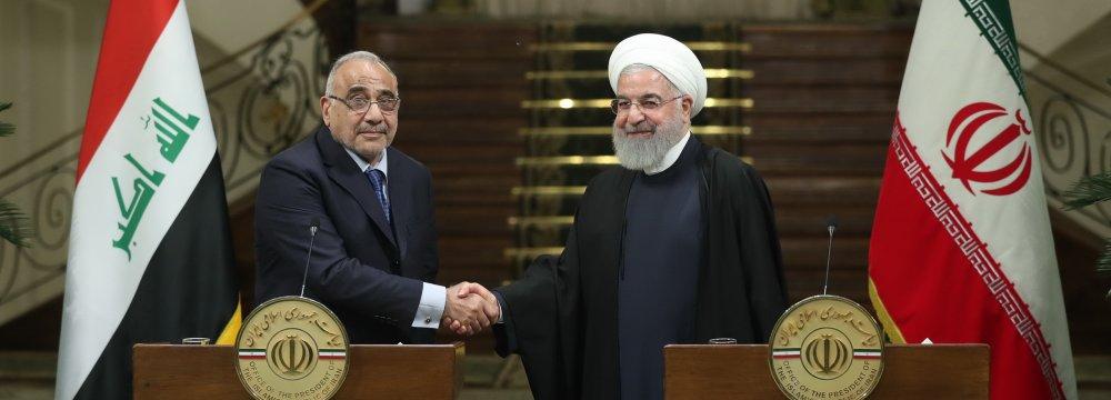 Closer Tehran-Baghdad Relations to Serve Regional Interests